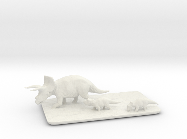 Triceratops family small