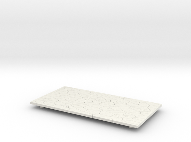 Serving Board in White Natural Versatile Plastic
