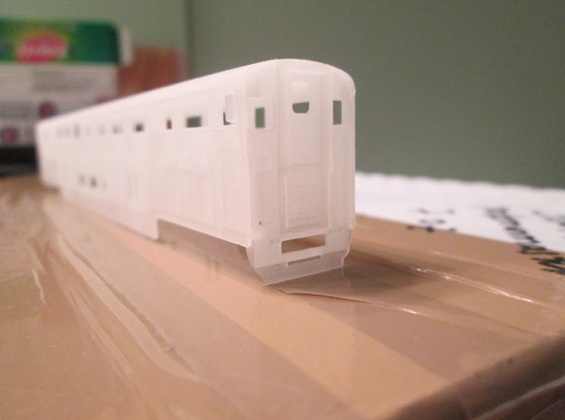 n scale Amtrak Surfliner Coach Baggage (cab car)