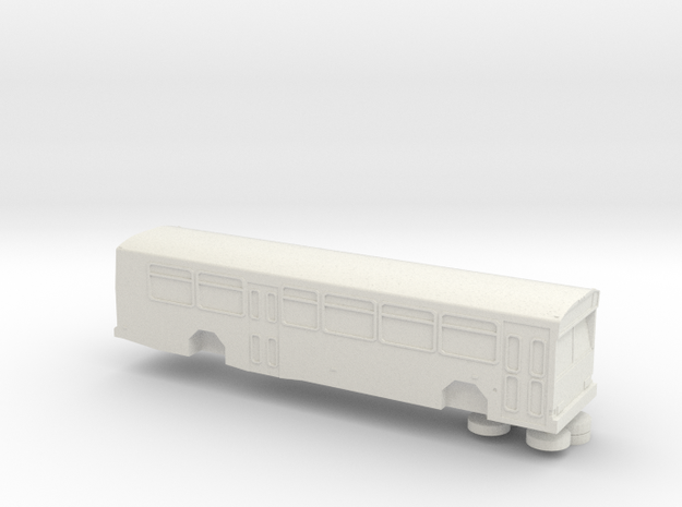 HO scale gillig phantom bus (solid)