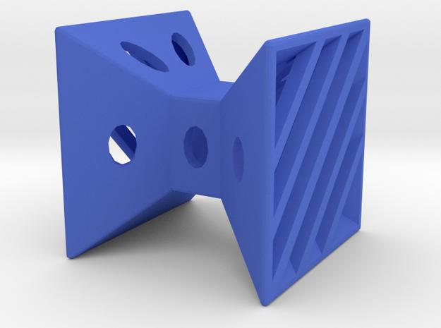 Dice92 in Blue Processed Versatile Plastic