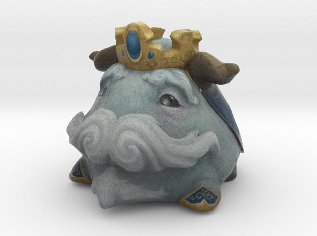 King Poro Blue in Full Color Sandstone
