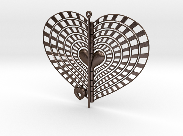 Heart Swap Spinner Rising Sun - 15cm 3d printed