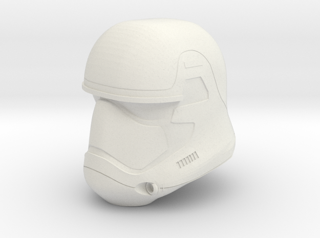 "Episode 7 Stormtrooper Helmet for 6"" figures in White Strong & Flexible"