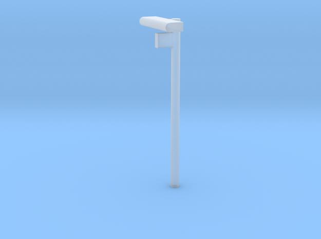 1/160 - DSB Stations lampe med Spornummer skilt (V in Smooth Fine Detail Plastic