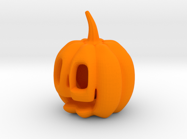Jack-o'-lantern in Orange Processed Versatile Plastic