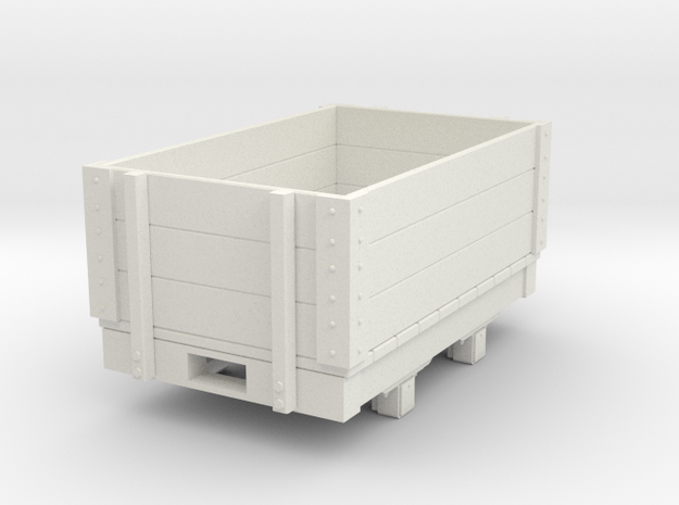 Gn15 small 5ft open wagon in White Natural Versatile Plastic