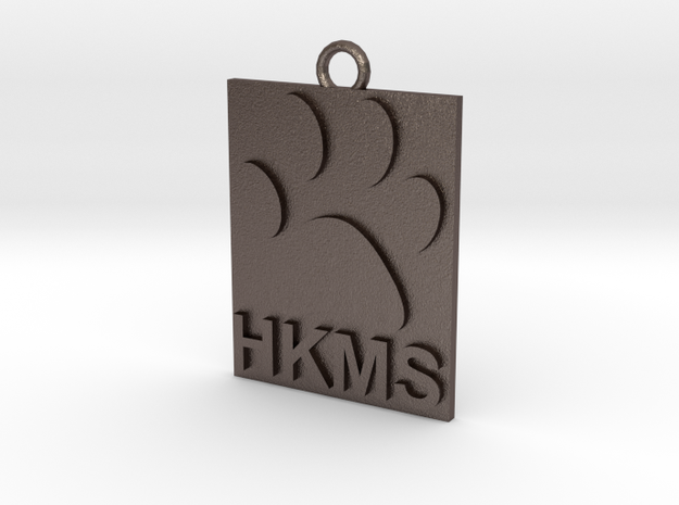 HKMS Keychain/Ornament in Stainless Steel