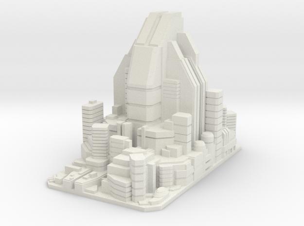 Futuristic city concept 2 - City of Minerva