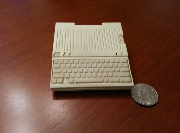 Apple IIc Raspberry Pi Model A+ Case   in White Strong & Flexible