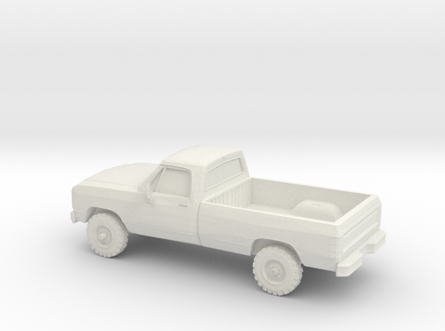 1/87 1991 Dodge Ram Single Cab