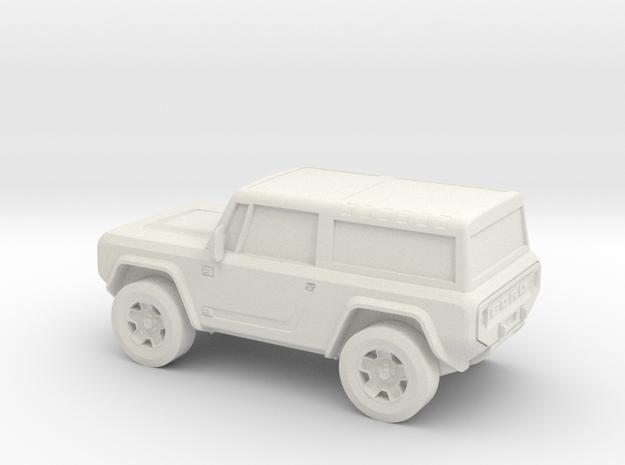 1/87 2004 Ford Bronco Concept  in White Natural Versatile Plastic