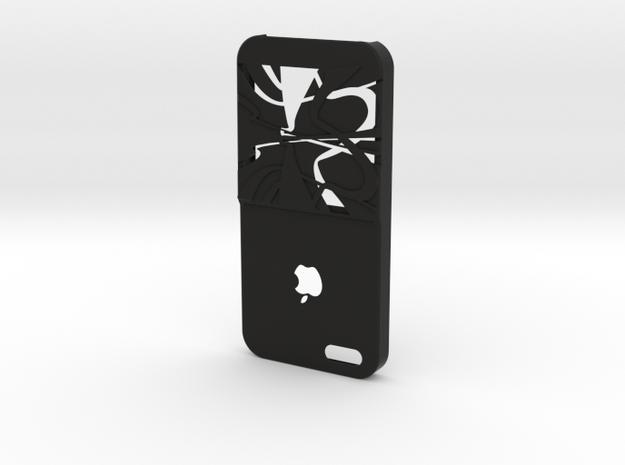 Iphone 5 Credit Card One in Black Natural Versatile Plastic