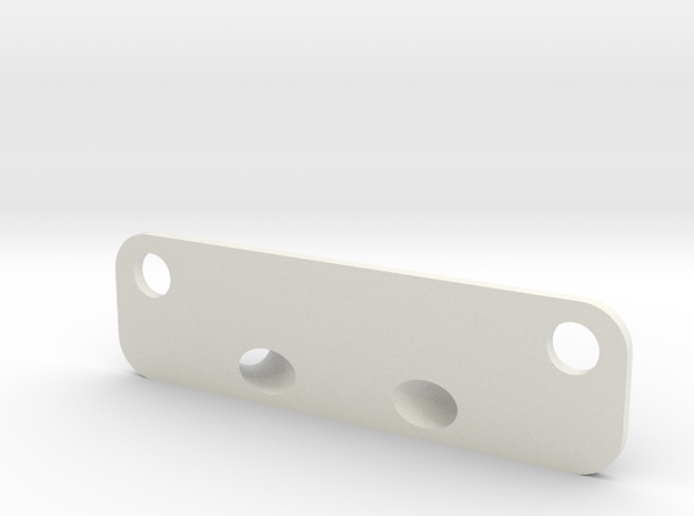Diversity Dual Antenna Mount for 250 Quads in White Natural Versatile Plastic