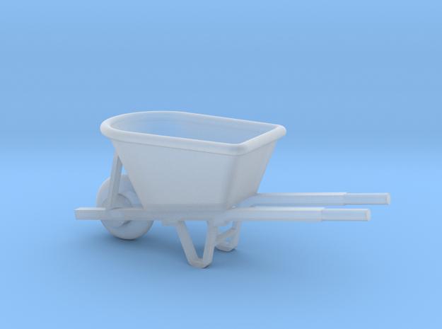 Miniature 1:48 Wheelbarrow in Smooth Fine Detail Plastic