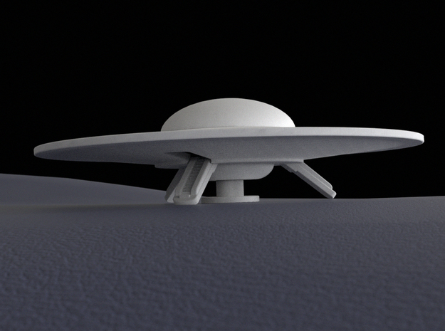 Flying saucer, 60 mm