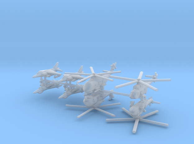 1/700 Italian Naval Aviation Kit 3 in Smooth Fine Detail Plastic