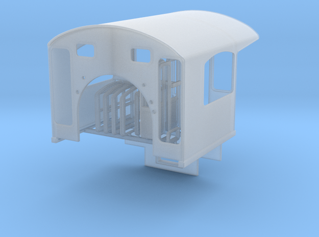 Southern Ry Cab for MDC old timers - HO scale in Smooth Fine Detail Plastic