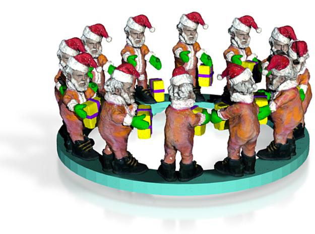 Santa449 3d printed