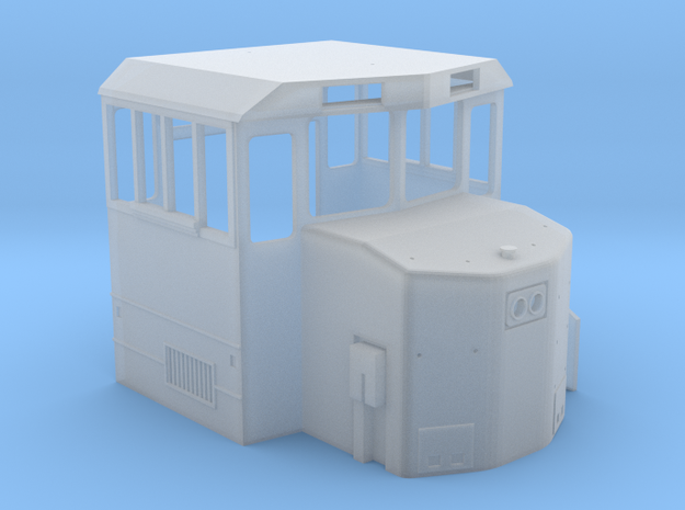 HO MK1500 Cab Only in Smooth Fine Detail Plastic