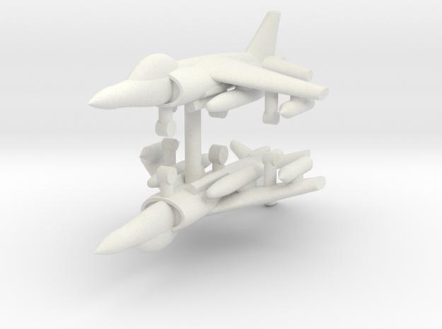 1/285 AV-8B Harrier II (x2) in White Natural Versatile Plastic