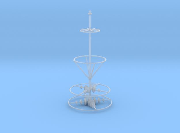Spire Upper V0.1 in Smooth Fine Detail Plastic