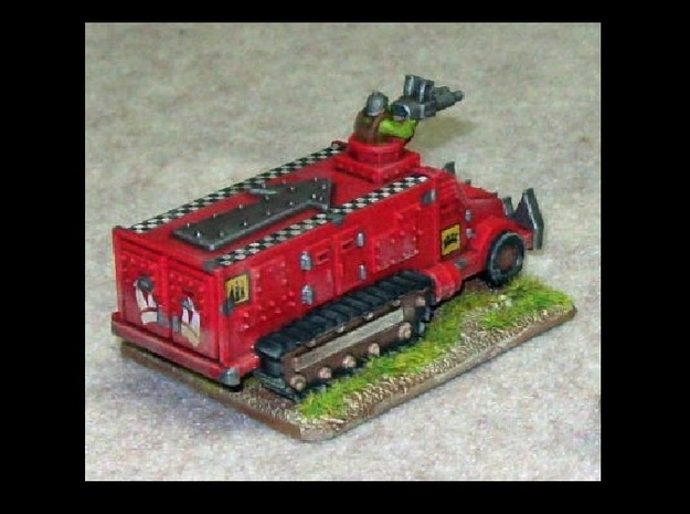 15mm Greenskin Party Wagons (x2) 3d printed