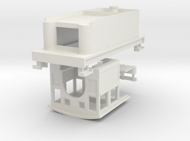 HOn30 Loco Kit for 2-8-0 DCC (high tender) 3d printed
