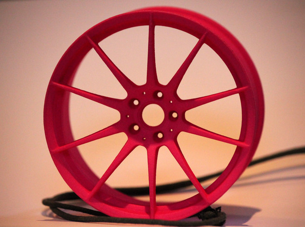 Scaled Performance Wheel 2 in Pink Strong & Flexible Polished