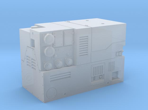 Stromerzeuger 13kVA Eisemann / GEKO in Smooth Fine Detail Plastic: 1:87 - HO