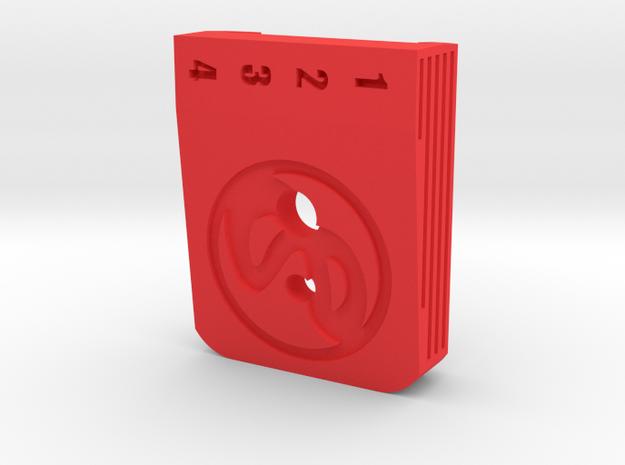 Hi Capa  Baseplate Infinity Lace in Red Processed Versatile Plastic