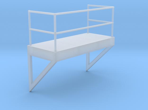 'HO Scale' - 8' W - Ladder Platform in Smooth Fine Detail Plastic
