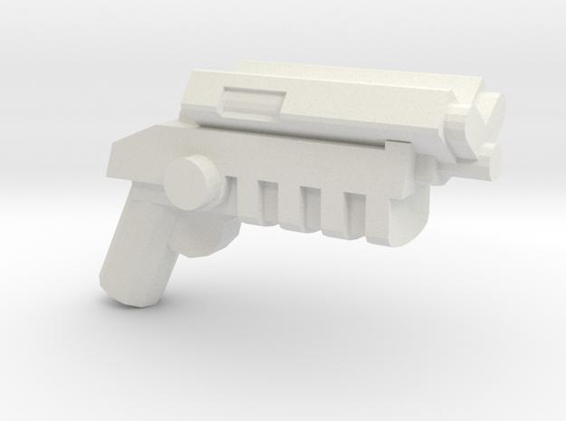 Grapnel Gun V1.1 in White Strong & Flexible