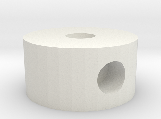 Tomato Scaffolding Joint Scale 30mm-60mm in White Natural Versatile Plastic