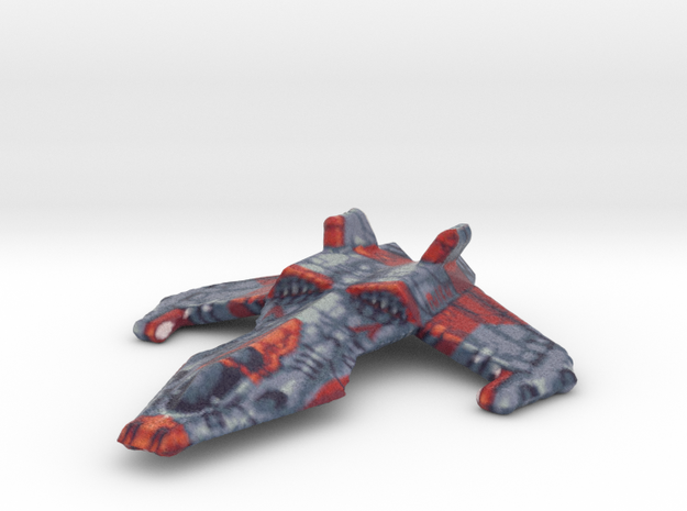 Fighter Jet in Full Color Sandstone