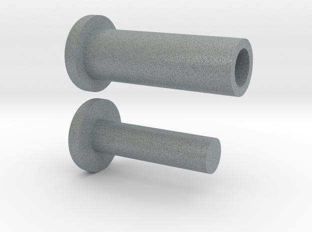 VENOM Thunderball turret plugs. (5 of 7) in Polished Metallic Plastic
