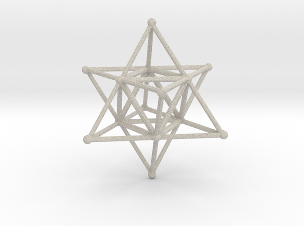 MERKABAH (figurine) in Natural Sandstone
