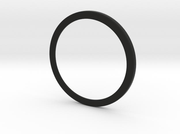 Large Luft Instrument Face in Black Natural Versatile Plastic