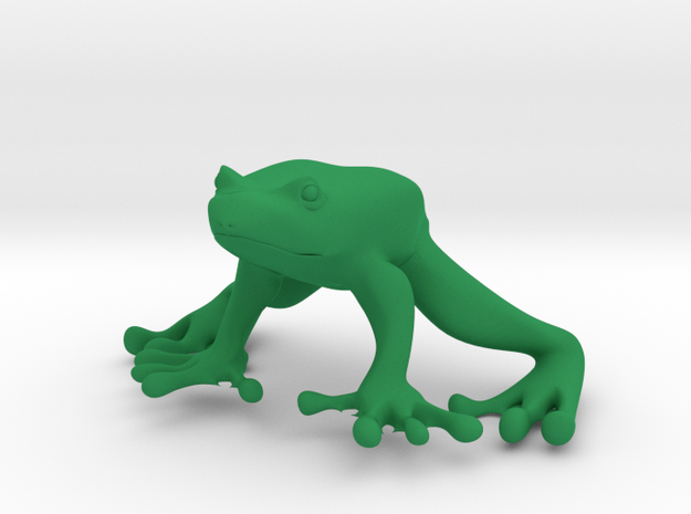 Froggy in Green Processed Versatile Plastic