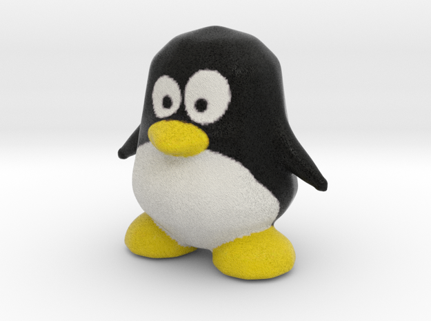 Little Tux in Full Color Sandstone