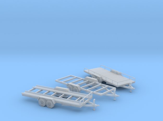 Trailer Assortment S Scale in Frosted Ultra Detail