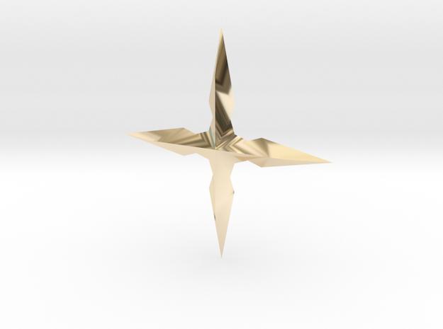 MALX X SM in 14K Gold
