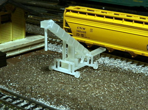 N Scale Sand Conveyor in Smooth Fine Detail Plastic