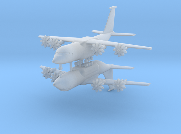 1/600 Antonov An-70 (x2) in Smooth Fine Detail Plastic