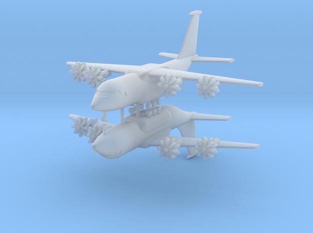 1/700 Antonov An-70 (x2) in Smooth Fine Detail Plastic