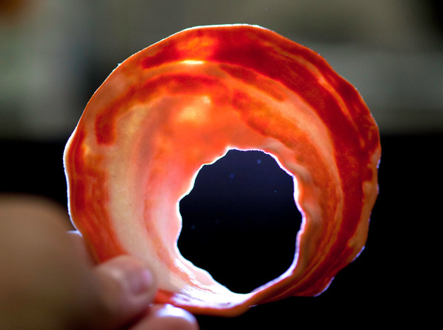 Bacon Mobius Strip 3d printed