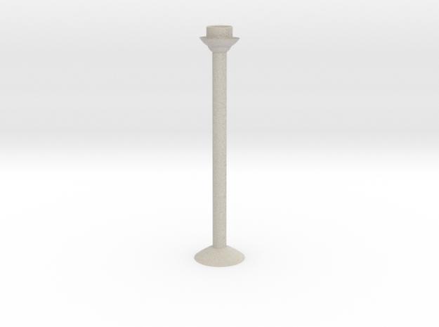 Candlestick H27cm/Kandelaar H27cm in Sandstone
