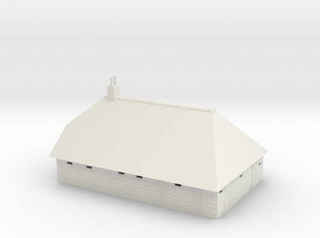 Giethoorn 87a in White Natural Versatile Plastic