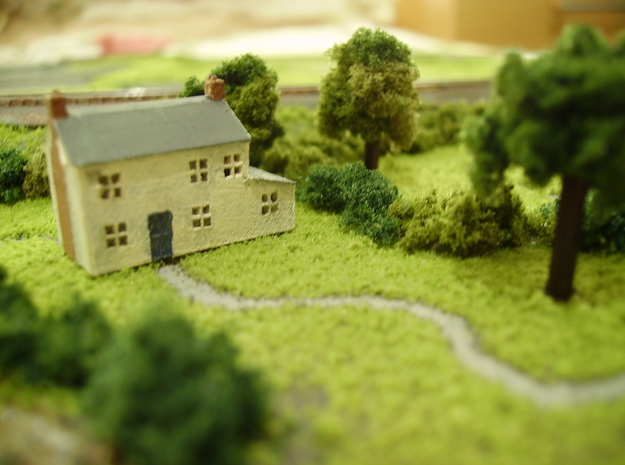 T Gauge House in Smoothest Fine Detail Plastic