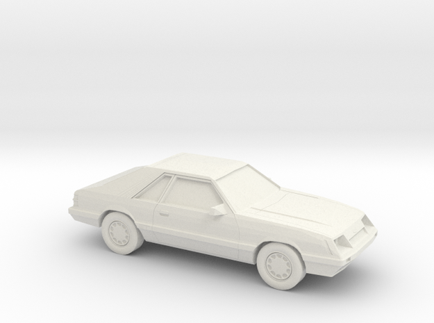1/87 1986 Ford Mustang GT